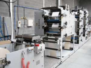 Apollo 530Z, 10 Colour Flexo Label Press