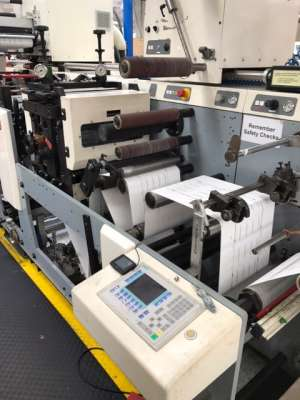 MPS EF330 - 8 Colour UV Flexo Label Press