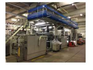 Bobst Schiavi EF4040 8 colour CI gearless flexo press