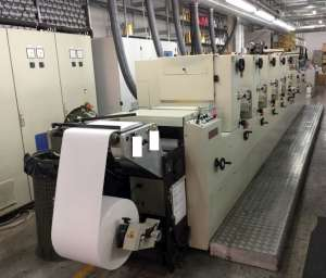 Codimag Viva 340 - 5 Colour Offset Press