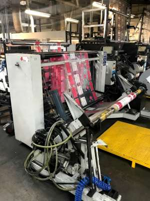 FMC Hudson Sharp Wicketer bag machine