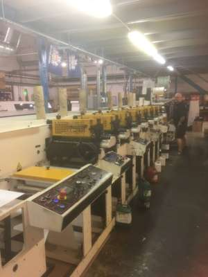 Nilpeter FB3300 - 8 Colour Flexo Label Press