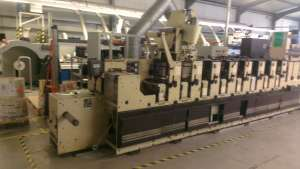 Mark Andy 2200 - 8 Colour UV Label Press