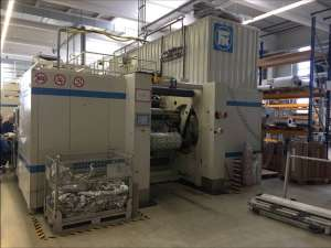 Fischer & Krecke 16S 10 colour gearless flexo press
