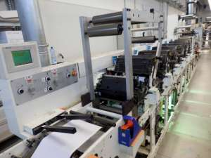 Omet Flexy FX 255 - 6 Colour UV Flexo Press