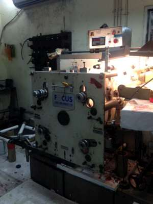 Focus F250 - 4 Colour Flexo Label Press