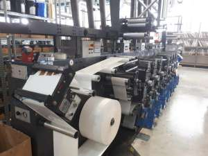 Gallus EM280 - 8 Colour UV Flexo Press