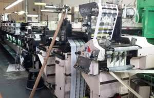 Nilpeter MO3300 - 8 Station Combination Press